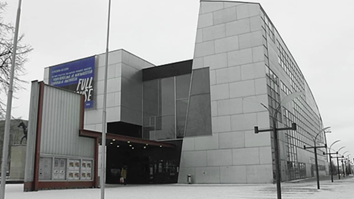 Nykytaiteenmuseo Kiasman julkisivu.