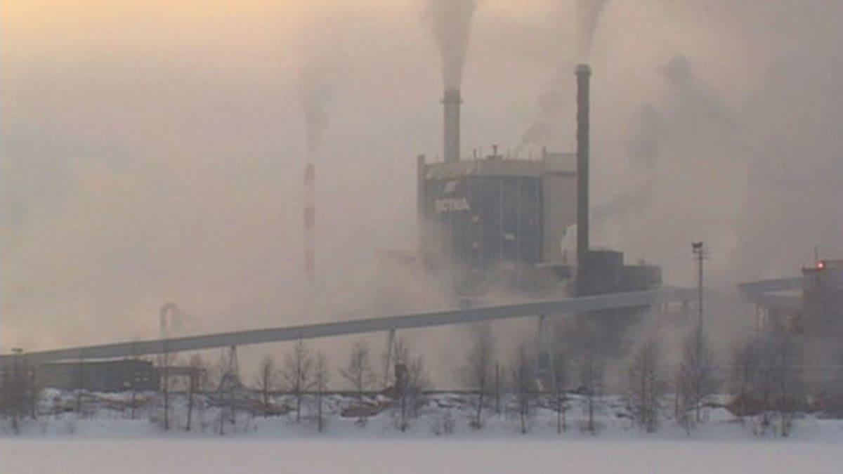 Metsä-Botnia aloittaa yt-neuvottelut myös Kemin tehtaalla.