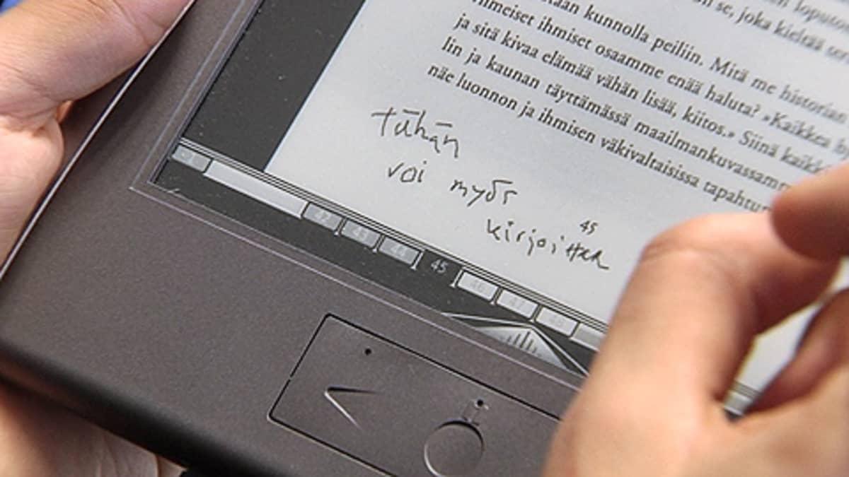Sähköinen kirja