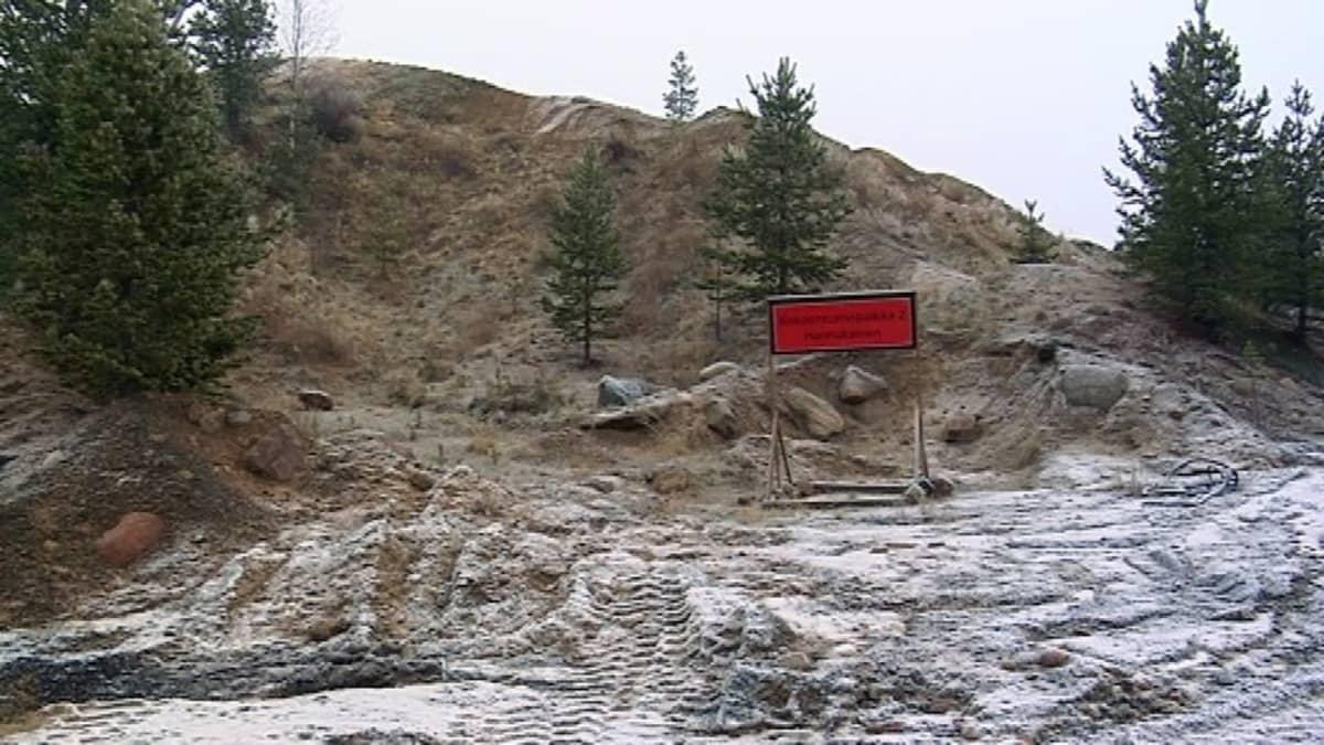 Hannukaisen kaivos Kolarissa