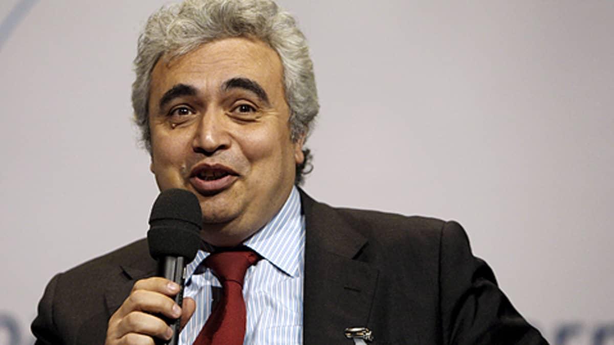 Kansainvälisen energiajärjestön, IEA:n pääekonomisti Fatih Birol.