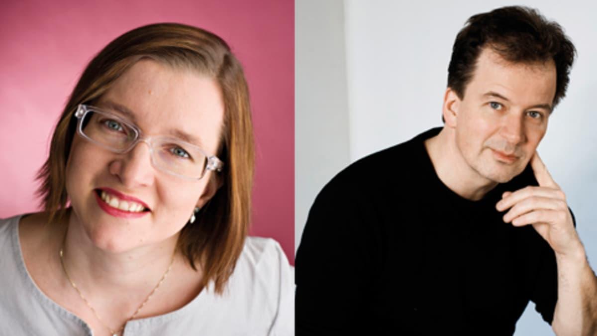Laura Honkasalo ja Kjell Westö