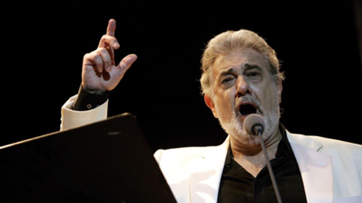 Espanjalaistenori Placido Domingo konsertoi kesäkuussa 2008 Dominikaanisessa tasavallassa.