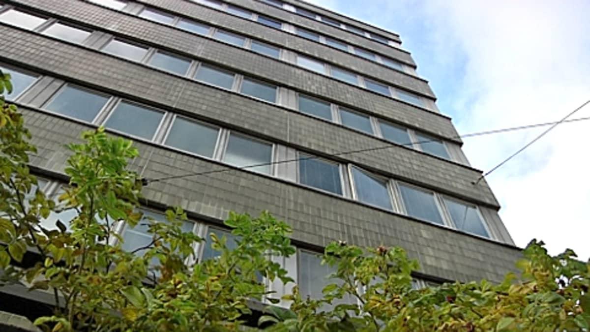 Ruusulankatu 10, Taka-Töölössä, johon on suunnitteilla yli 90 asuntoa asunnottomille.
