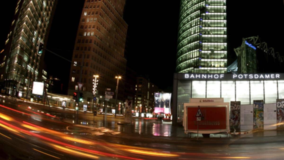 Potsdamer Platz Berliinissä.