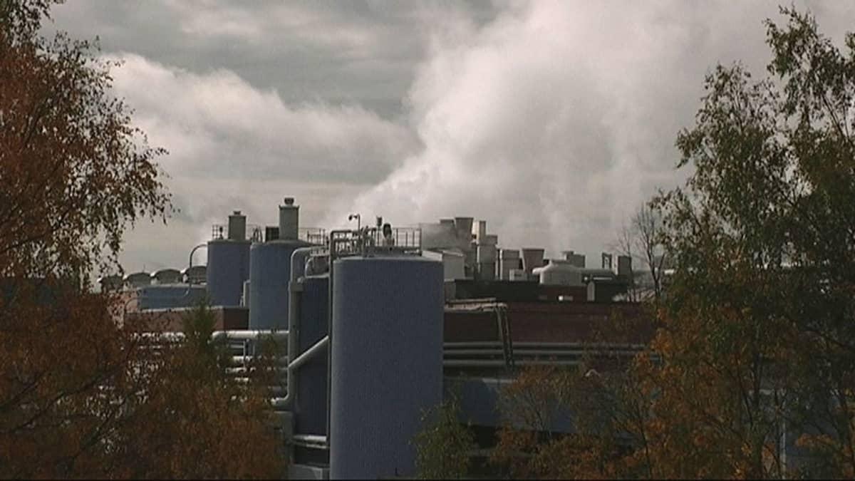 UPM:n Jämsänkosken tehdas