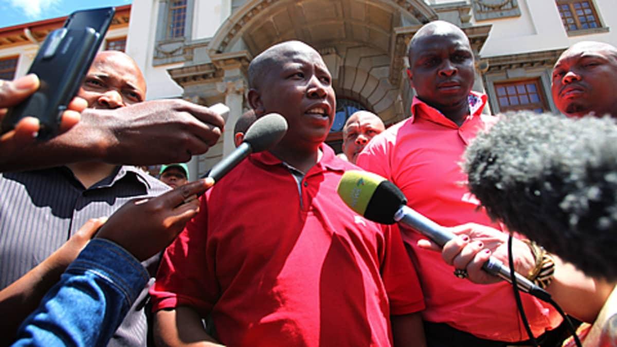 ANC:n nuorisojohtaja Julius Malema