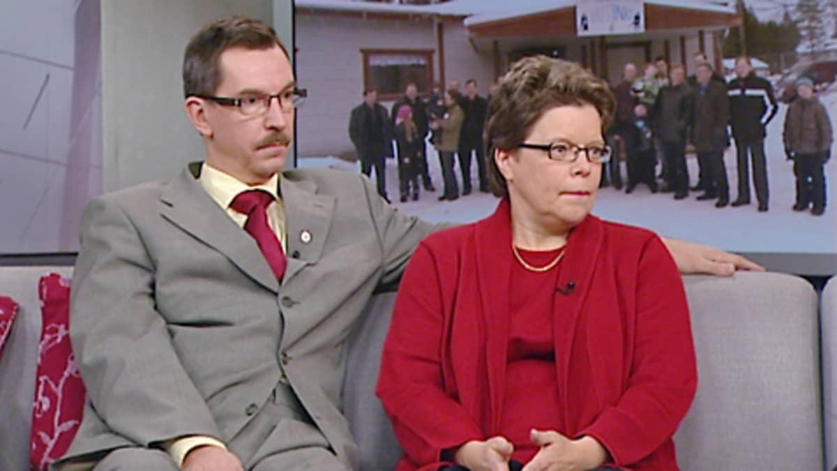 Juha ja Tuija Saari.