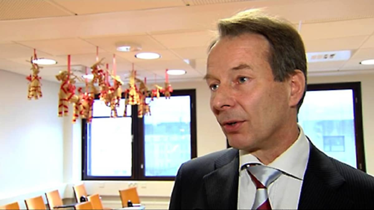 Suomen yrittäjien toimitusjohtaja Jussi Järventaus