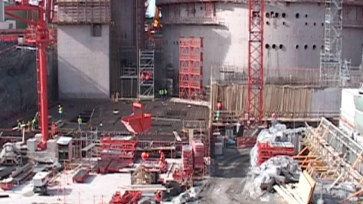 Olkiluodon ydinvoimalatyömaa