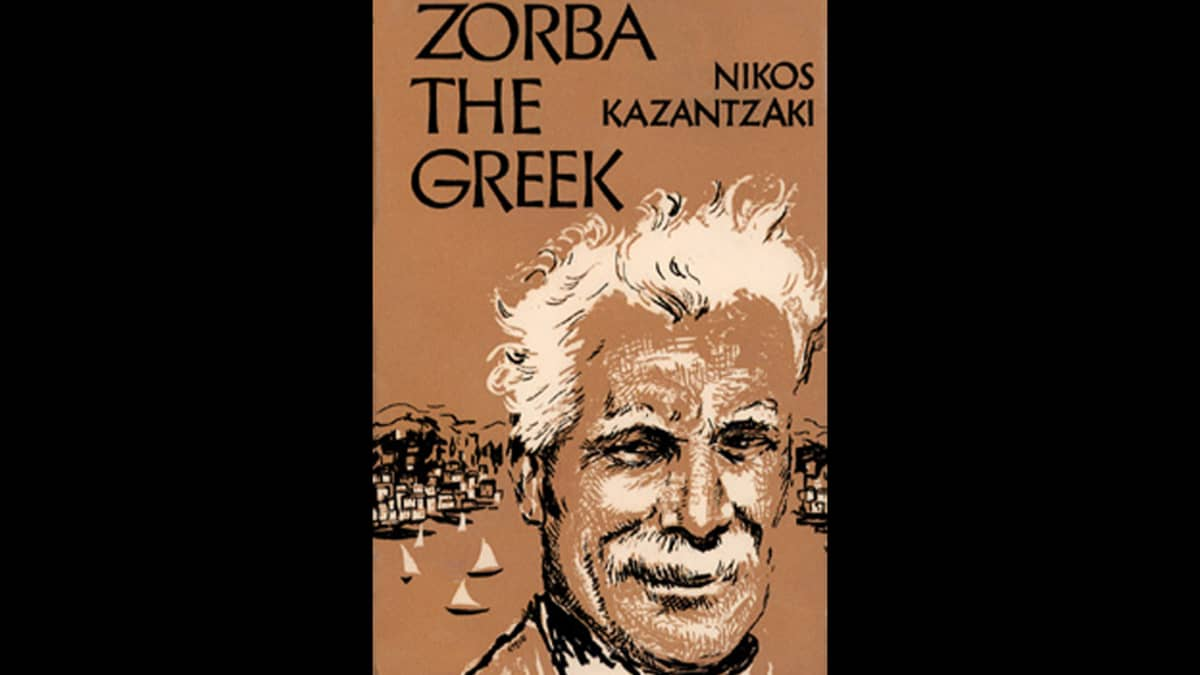 Kerro minulle Zorbas -kirjan kansi.