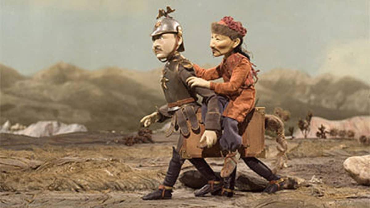Kuva elokuvasta Uralin perhonen.