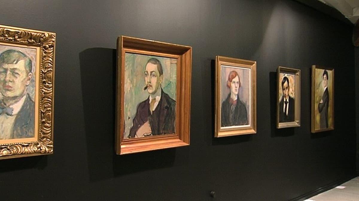 Tyko Sallisen maalauksia esillä Retretissä.