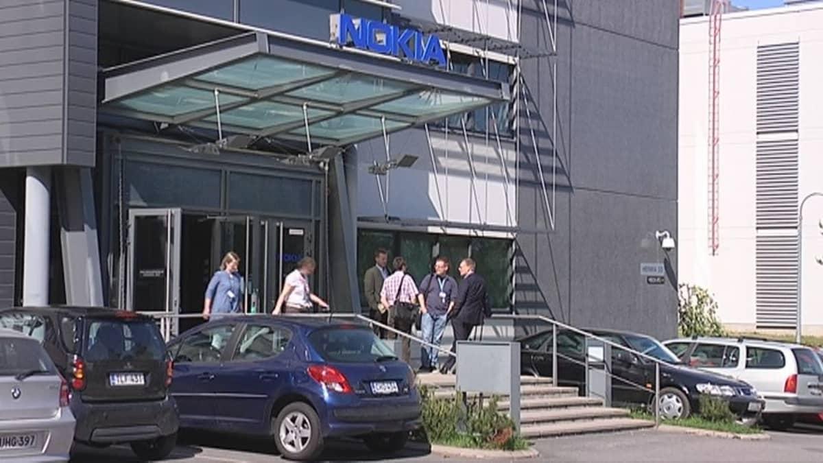 Nokian toimisto Tampereen Hervannassa