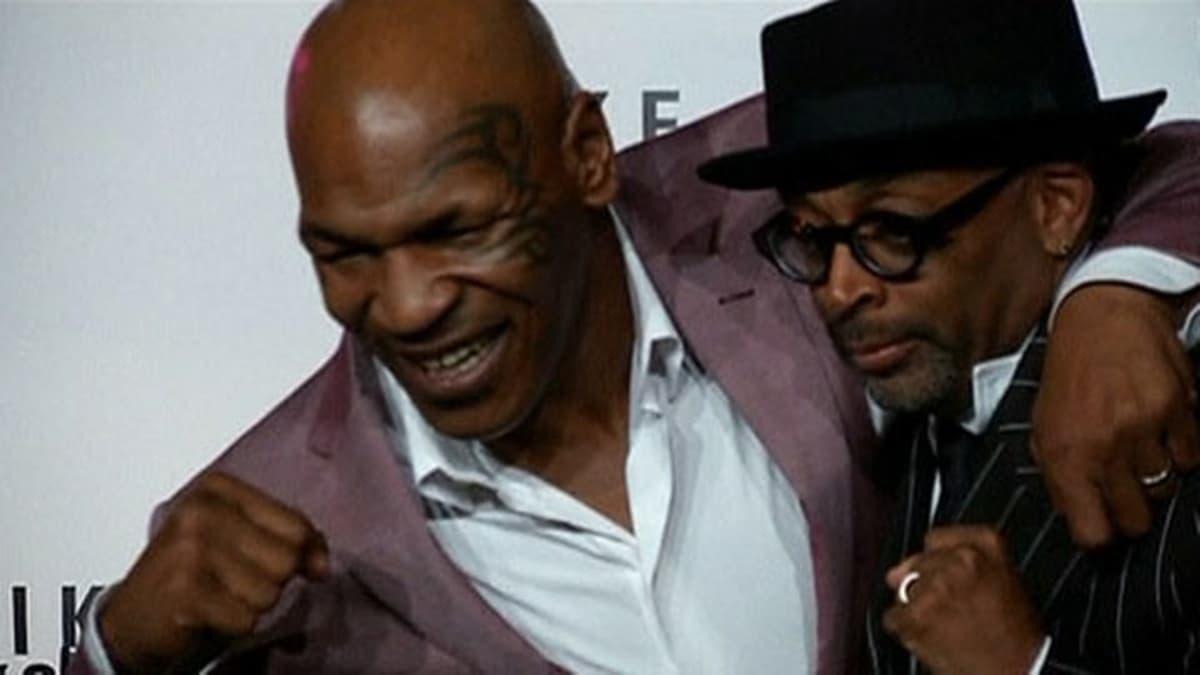 Mike Tyson ja Spike Lee.