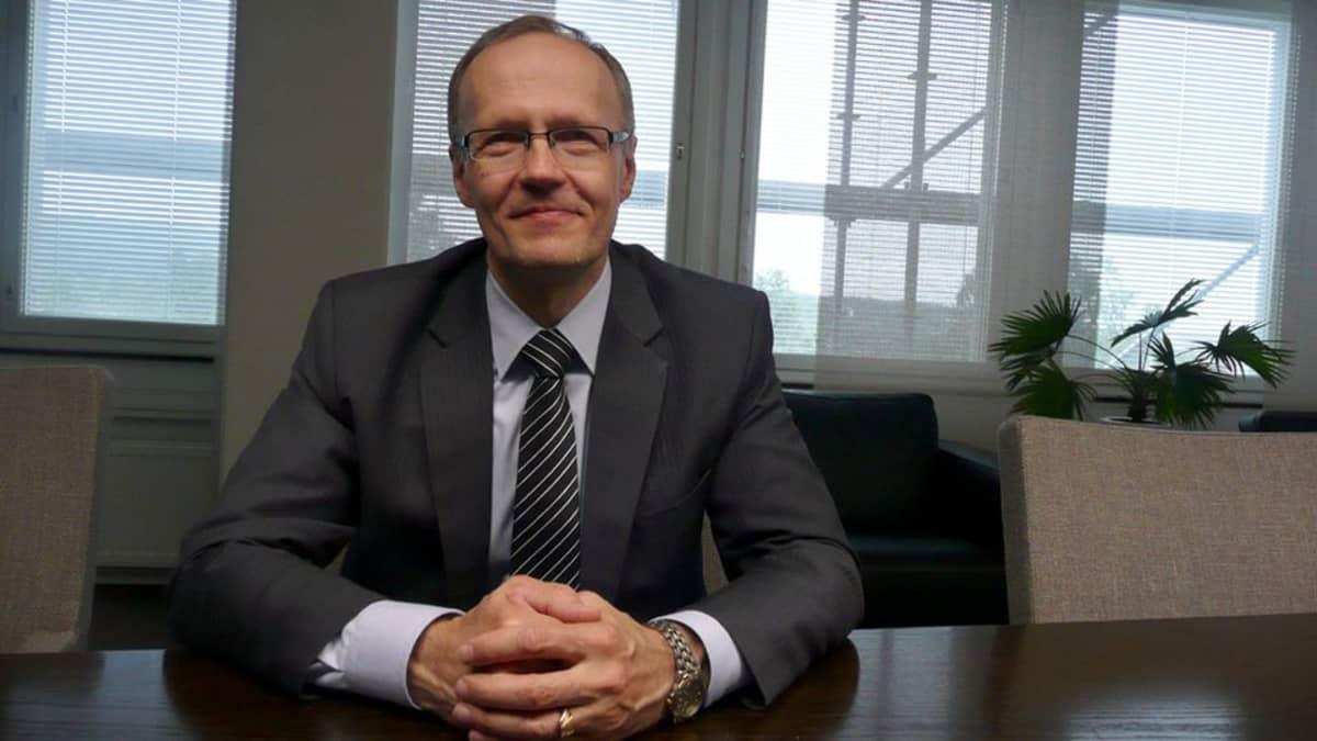 Kemijoki Oy:n toimitusjohtaja Aimo Takala