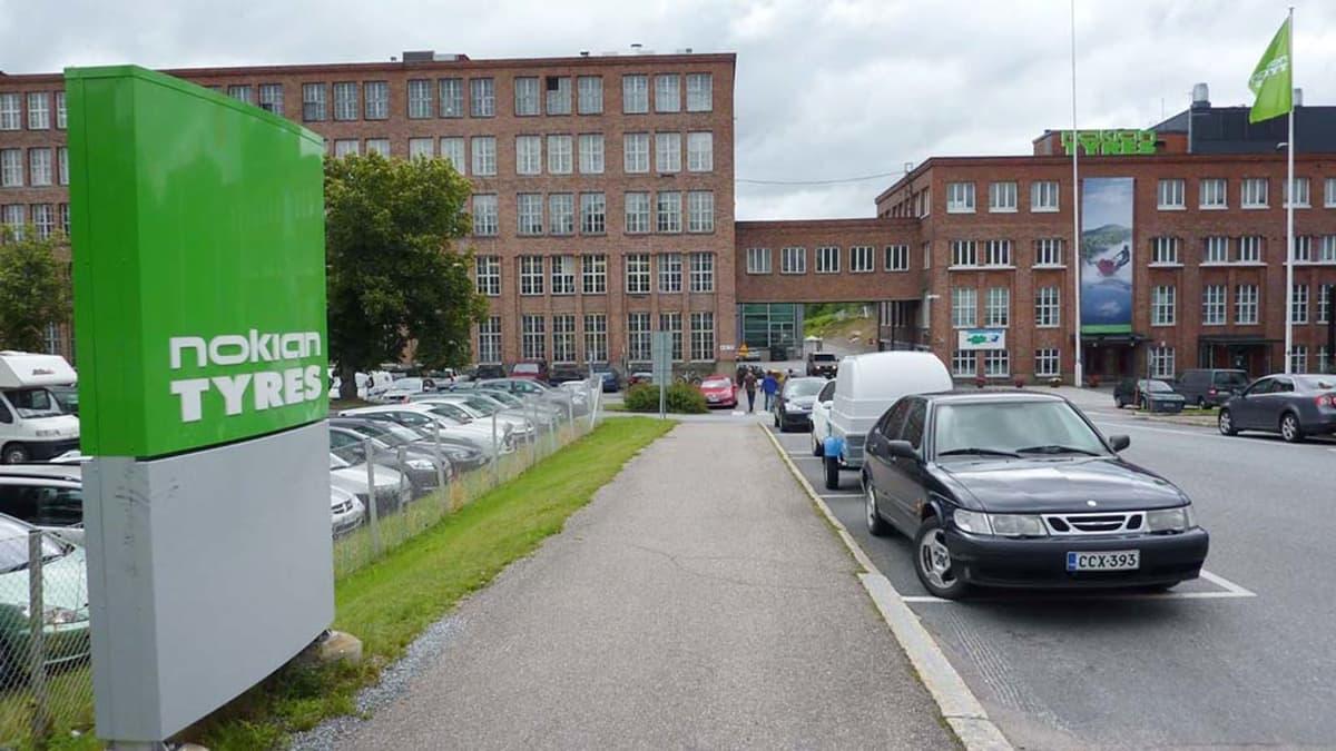 Nokian Renkaitten tehdasalue