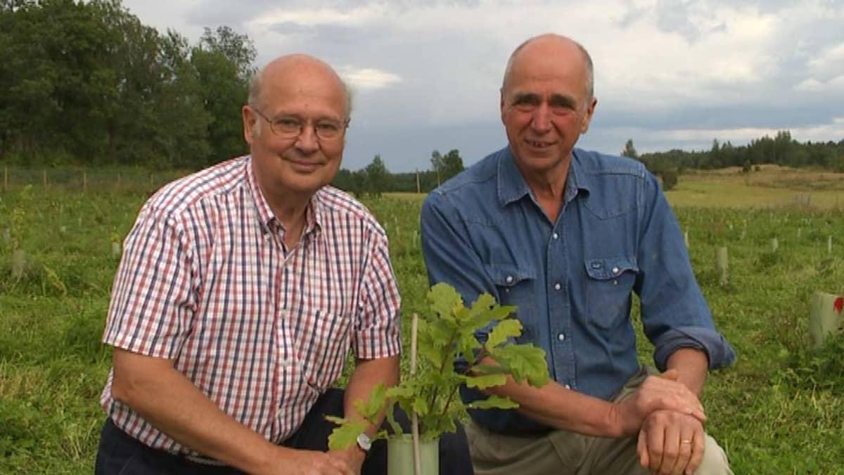 Lars C.Ingman ja Anders af Heurlin.
