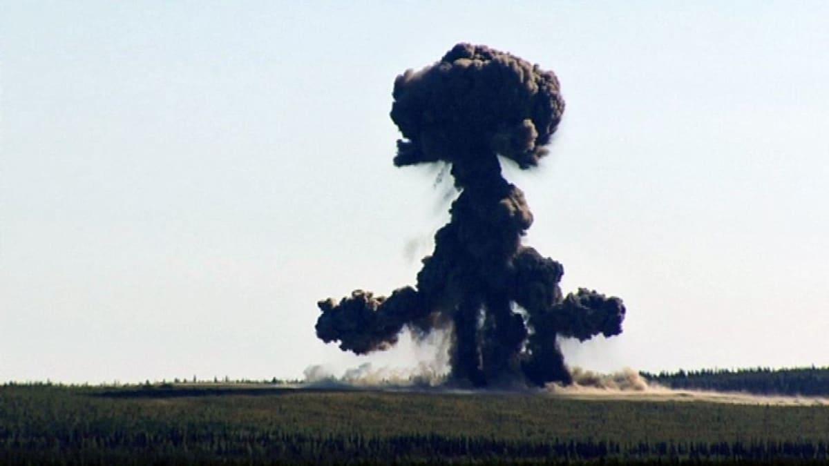 Räjäytys