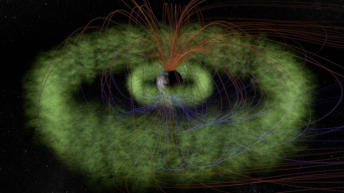 Satelliitit tutkivat Maata ympäröiviä Van Allenin säteilyvyöhykkeitä.