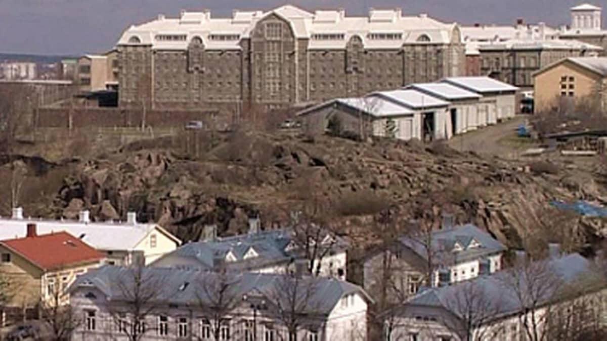Kakolan vankila-alue.