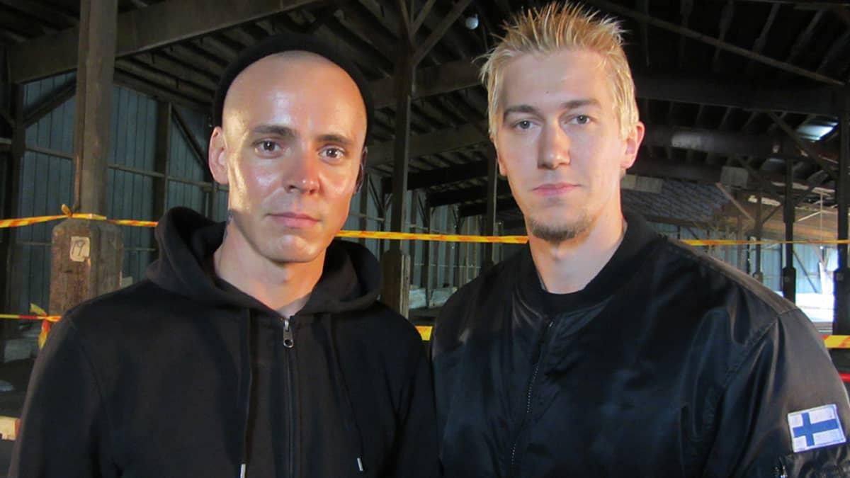 Jasper Pääkkönen ja Jussi Vatanen