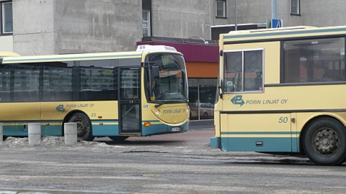 Porin Linjat linja-auto joukkoliikenne paikallisliikenne