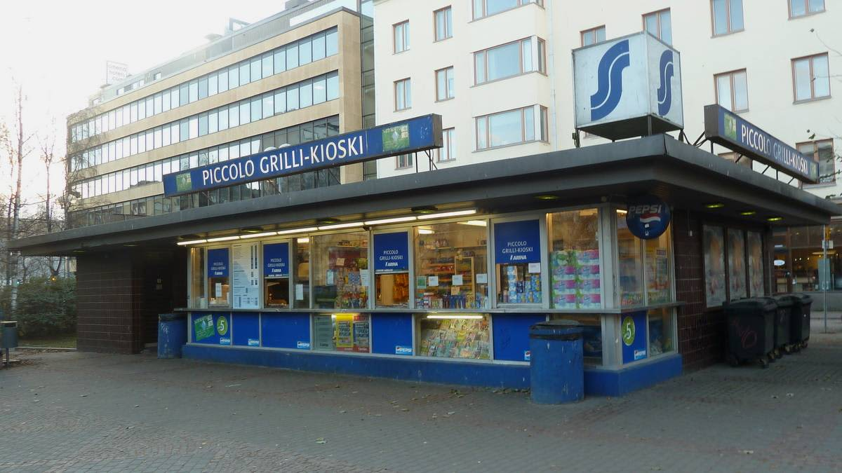Piccolo Grilli-Kioski Oulun Otto Karhin puistossa
