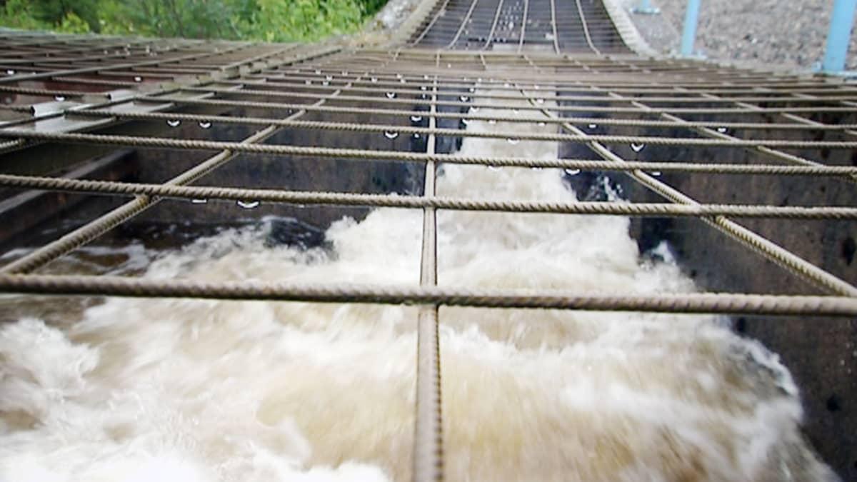 Kemijoen vesivoimalaitos.