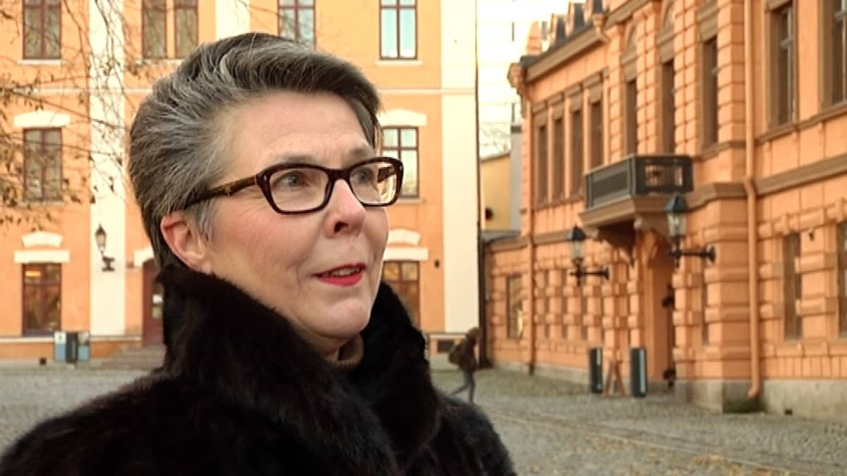Tutkija Tarja-Tuulikki Laaksonen, Turun museokeskus.