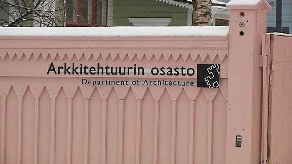 Oulun Yliopiston arkkitehtuurin laitos