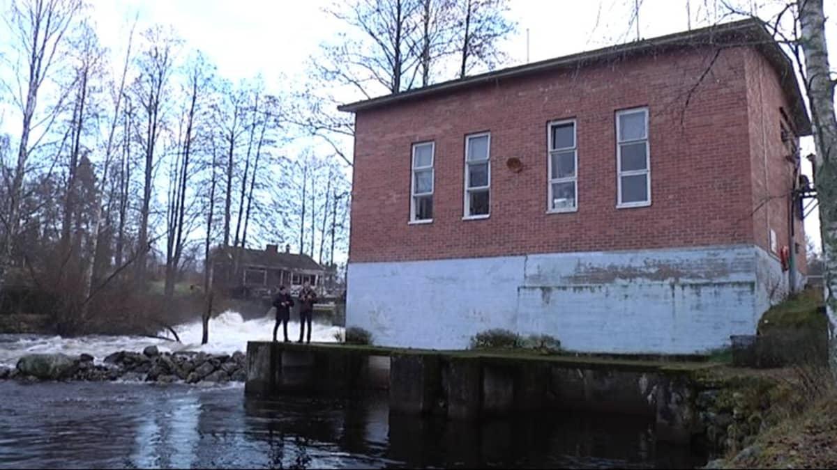 ELY-keskus tarkasti Virtaankosken voimalaitoksen Sysmässä