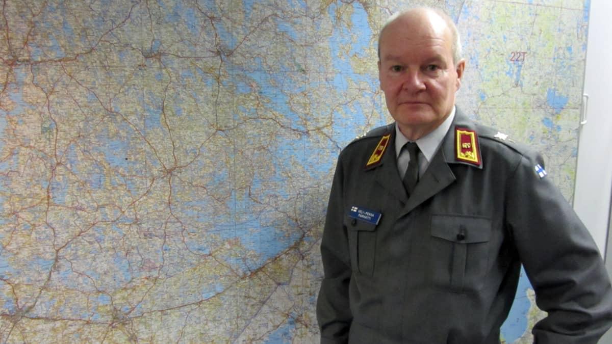 Itä-Suomen sotilasläänin uusi komentaja Veli-Pekka Parkatti