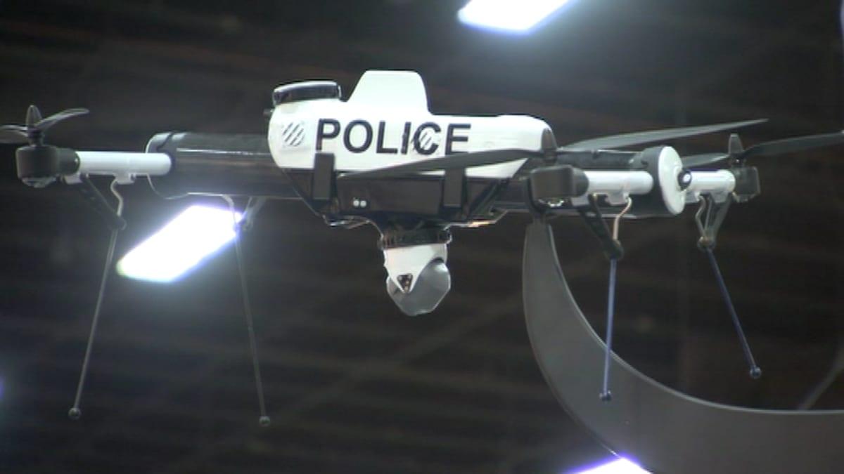Poliisin valvontalennokki.