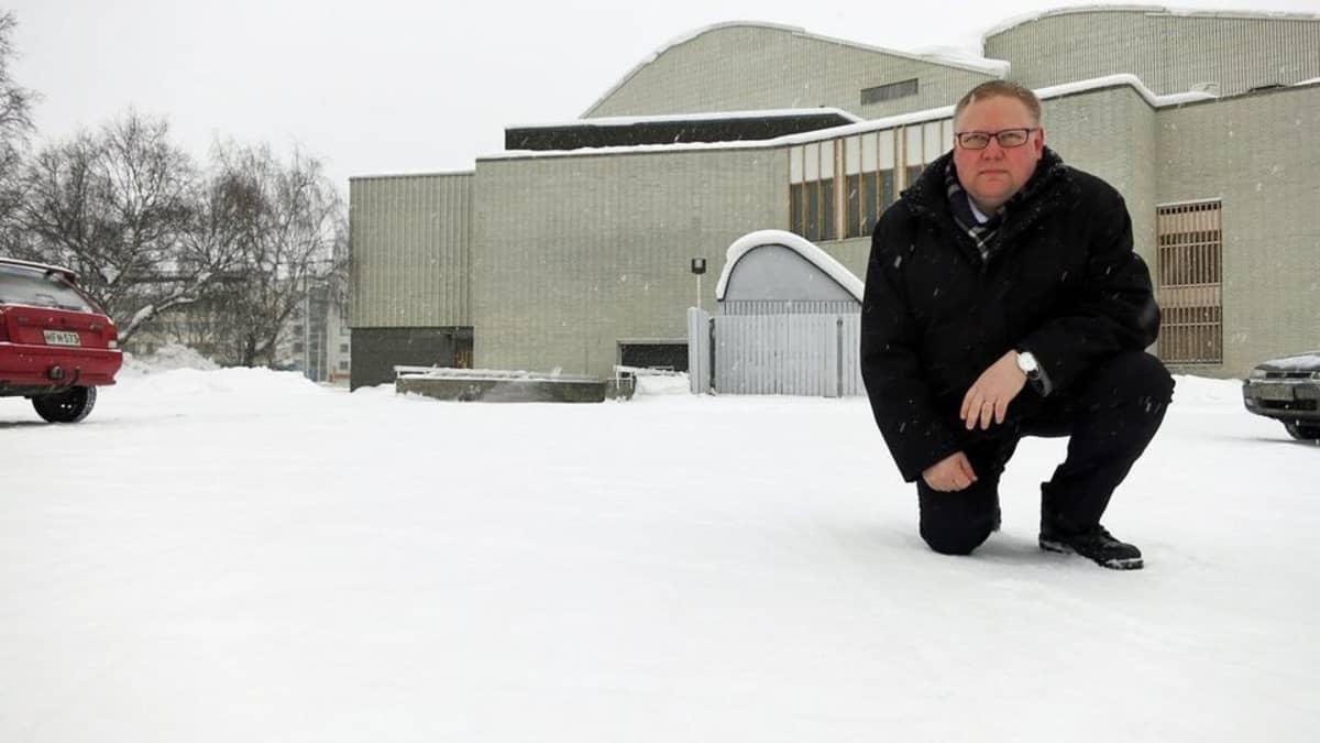 Rovaniemen kaupungin tilaliikelaitoksen johtaja Pekka Latvala