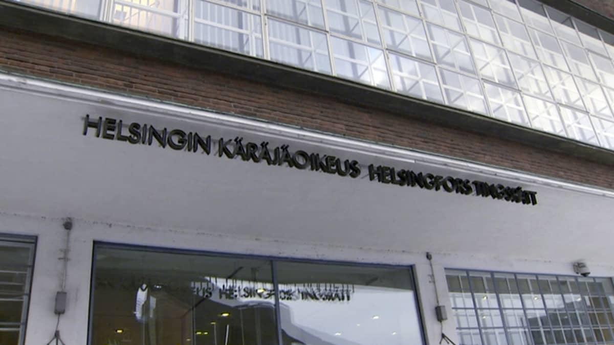 Helsingin käräjäoikeuden julkisivu