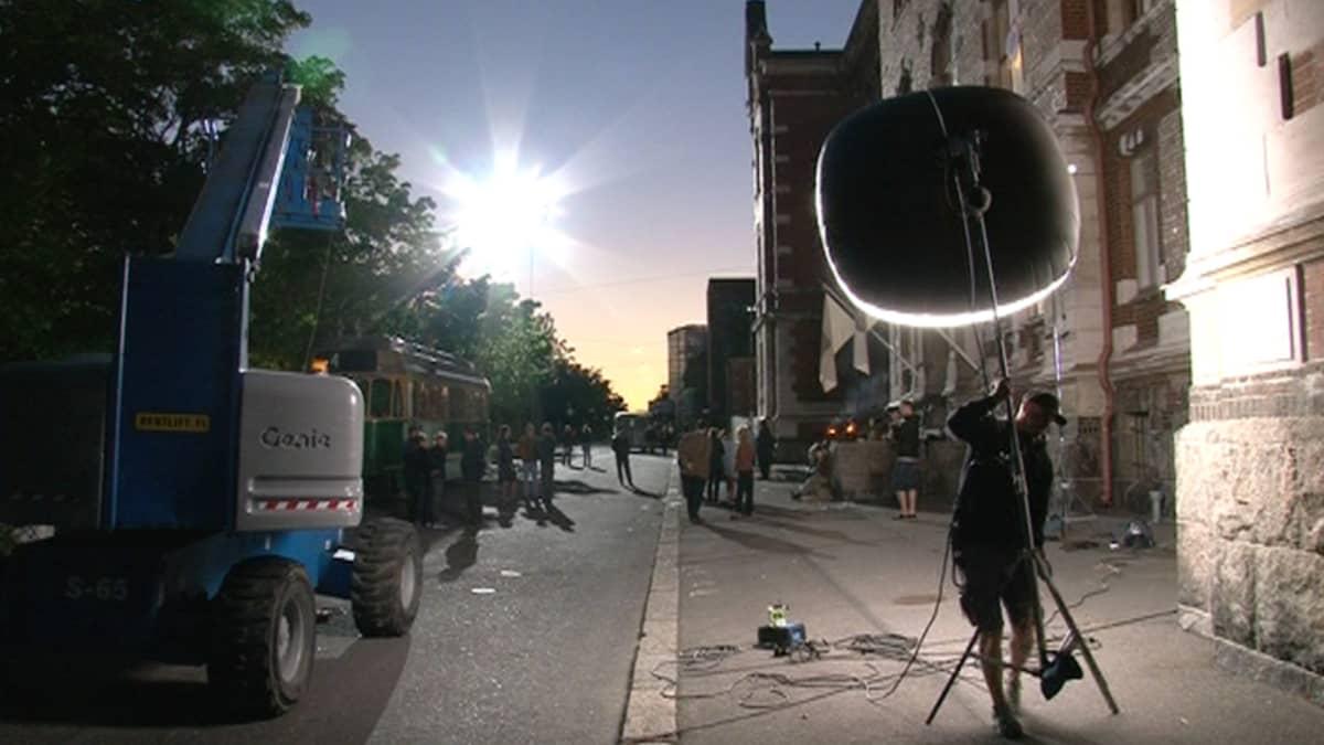 Elokuvan exterior kuvaukset.