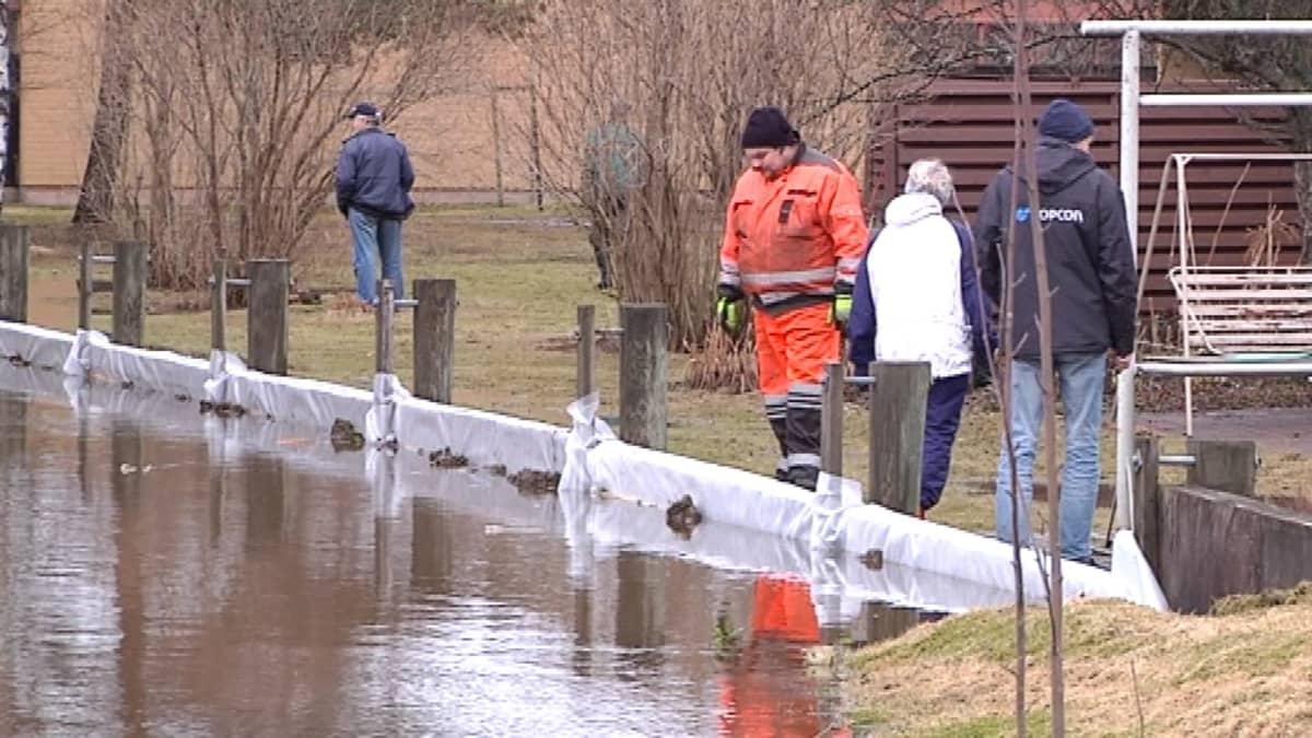 tulva jalasjärvi talon suojaus tulvapato
