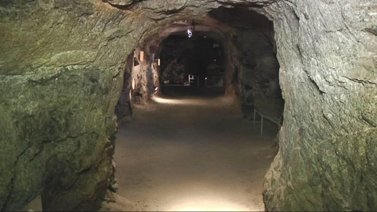 Punharjun luolasto