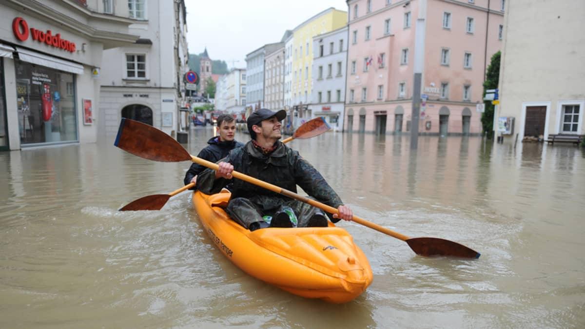 Tulvat Passaussa