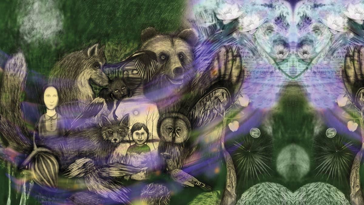 Ylä-Kainuun Tarinakartastossa on Sari Hiltusen teoksia.