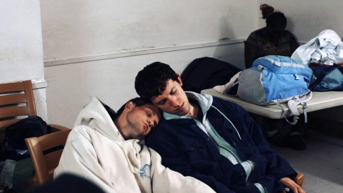 American Vagabond -dokumentin James ja Tyler.