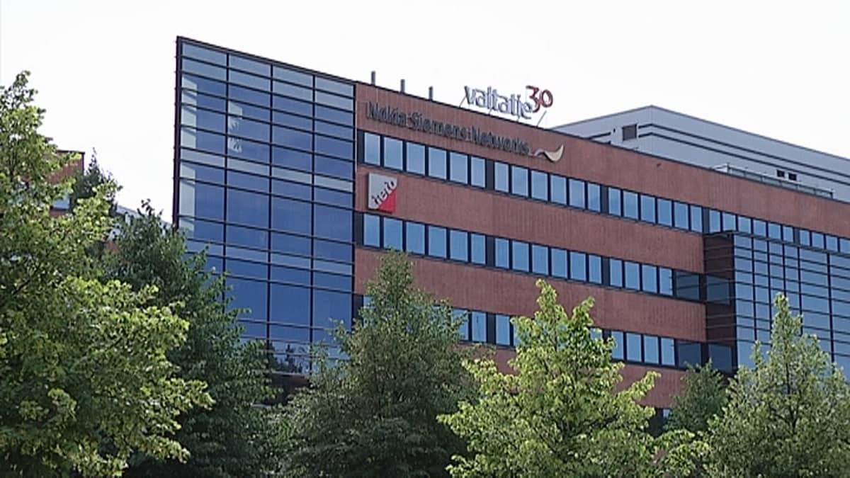 Nokia Siemens Networksin toimitilat Tampereella