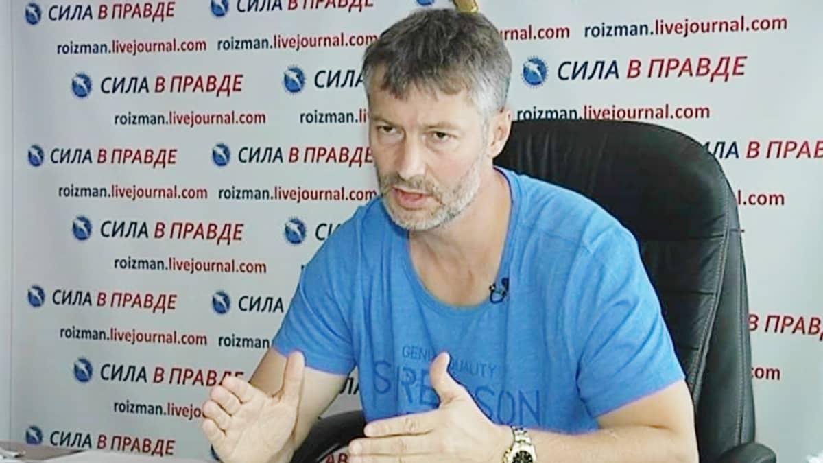 Liikemies Jevgeni Roizman.
