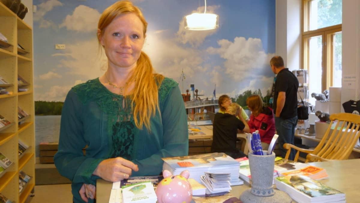 Savonlinnan Seudun Matkailupalvelun tuotanto- ja mediapäällikkö Tanja Honkonen