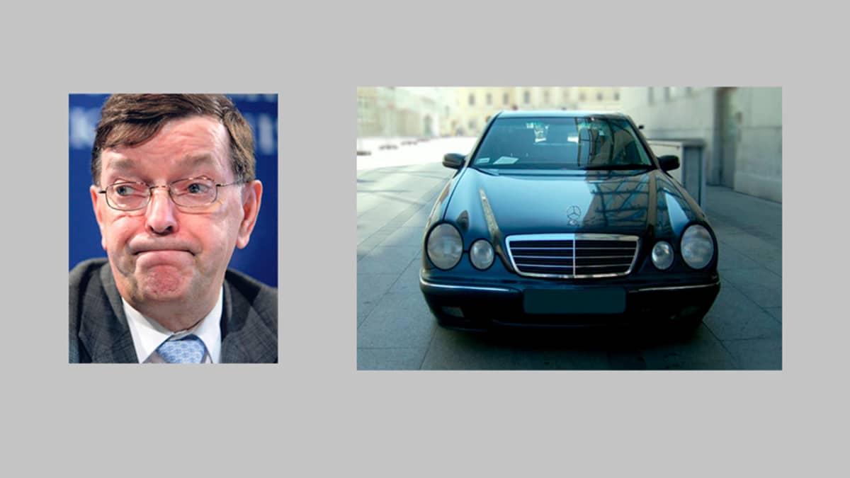 Paavo Väyrynen ja Mercedes-Benz W210