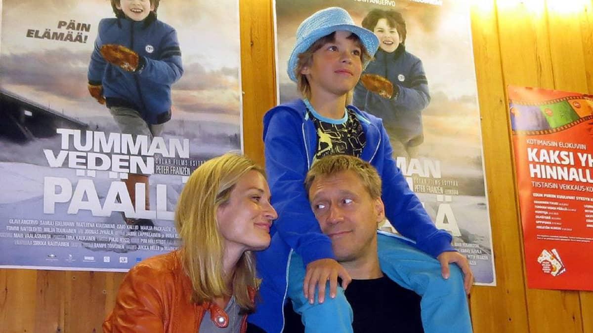 Matleena Kuusniemi, Samuli Edelman ja Olavi Angervo