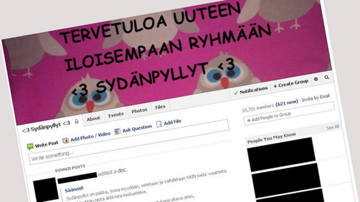 Sydänpyllyt FB Facebook nettikirppis Me&I