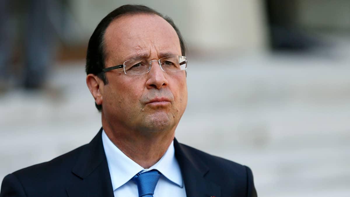 Ranskan presidentti François Hollande Pariisissa 29. elokuuta 2013.