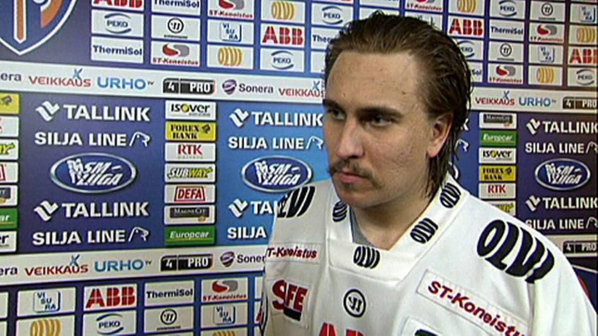 Niclas Lucenius syötti kolme maalia LeKille (Arkistokuvaa)